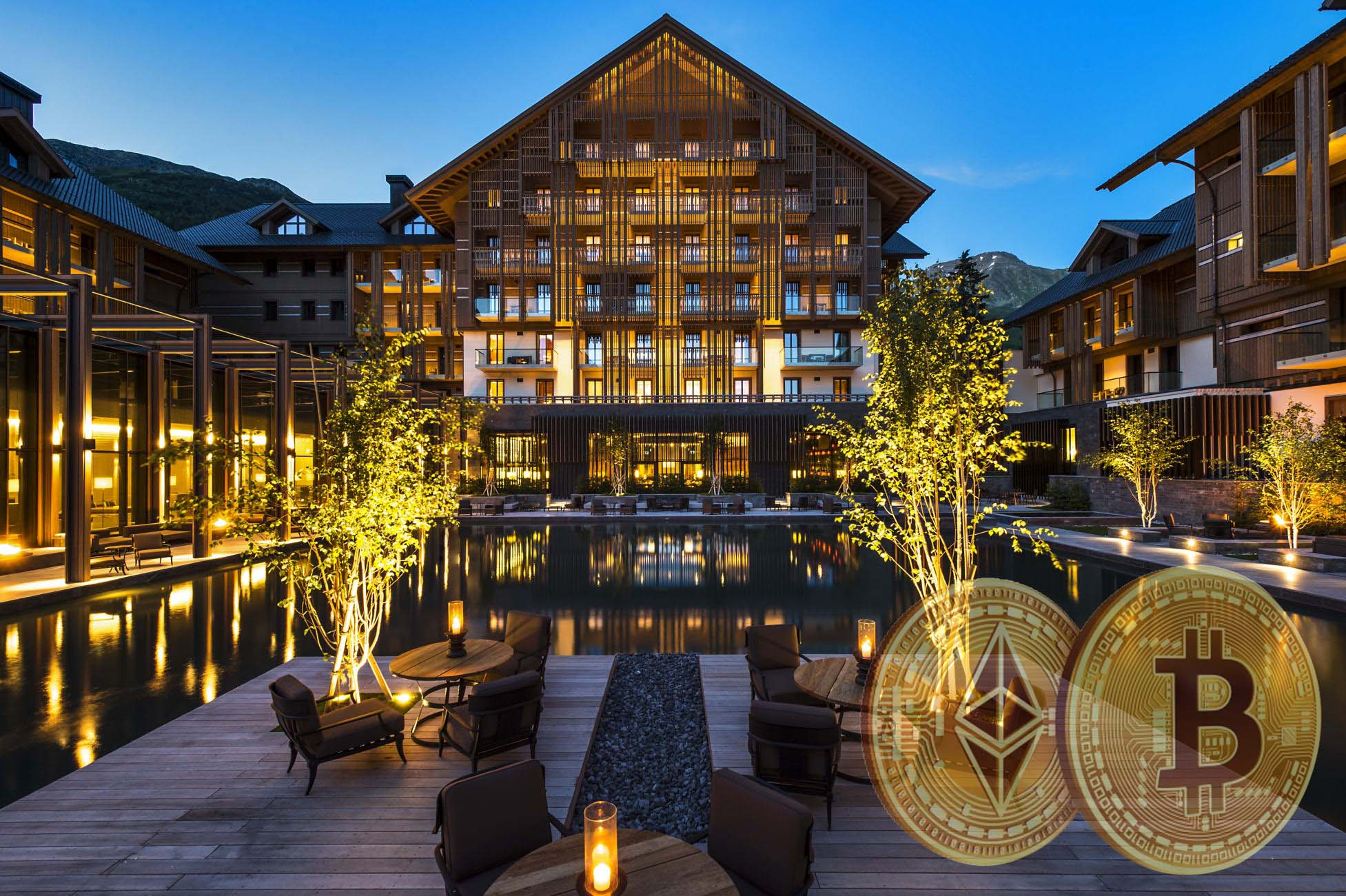 Five-star hotel, Chedi Andermatt, in the Swiss Alps confronts the issues of accepting Bitcoin and Ethereum as payment