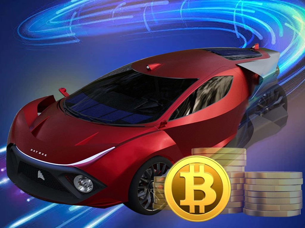 Daymak electric vehicle mines crypto in its free time